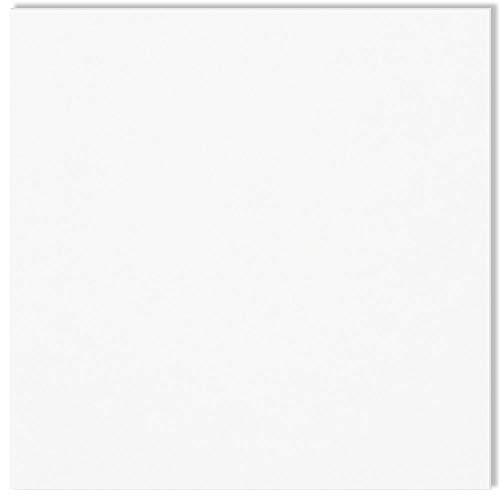 Anita y Su Mundo Anita y Su Mundo-37110970-Básicos Scrapbooking blanco color doble cara, 1,5 mm de grosor, 12 x 12 Pulgadas, Cartón, 12x12
