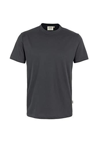 "HAKRO T-Shirt ""Classic"" - 292 - anthrazit - Größe: XL"