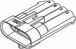 Automotive Direct sale of manufacturer Connectors 4P MALE BLACK 150 14 AMPS 100 Directly managed store piec SERIES