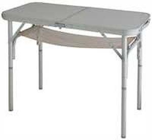 Opvouwbare aluminium campingtafel, stabiel – breedte 40 x 80 lengte – 32/61 – met verstelbare poten – 3,35 kg – verdrijf door – Holly ® producten STABIELO ® – holly-sunshade ® – gepatenteerde innovaties op het gebied van mobiele universele zonwering – Made in Germany –