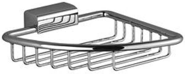 Dornbracht 83281530 00 Madison Corner Soap Basket In Polished Chrome