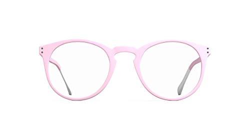 Pantone – Brille für Bildschirme gegen blaues Licht für Kinder Number EIGHT Rosa Mädchen 8/12 Jahre mit Behandlung gegen blaues Licht Ultraleicht Design Made in Frankreich