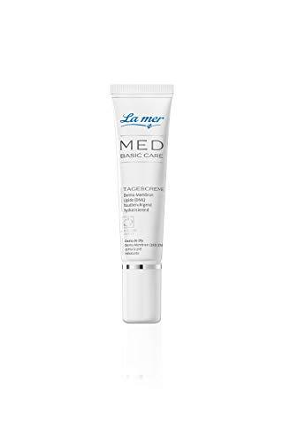 La mer MED Basic Care Tagescreme ohne Parfum 15 ml Reisegröße