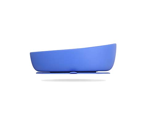 Doidy Schale aus Silikon, Blau
