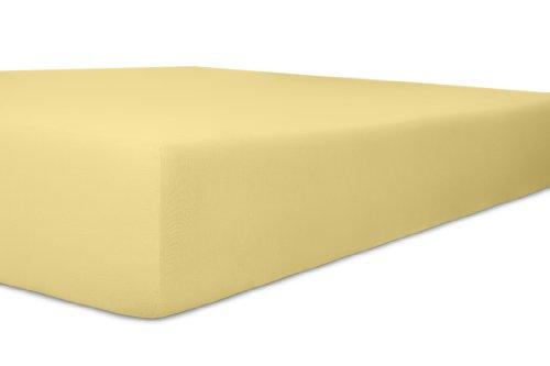 Kneer 2801812 Easy-Stretch hoeslaken kwaliteit 25, afmeting 180 x 200-200 x 220 cm, crème
