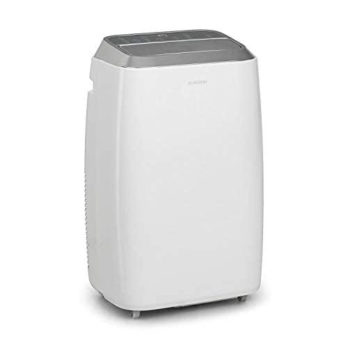 Klarstein Iceblock Prosmart - Mobile Klimaanlage, 3-in-1: Kühlung, Entfeuchtung, Ventilation, Energieeffizienzklasse A, WiFi: AppControl, 4 Bodenrollen, 9.000 BTU/2,6 kW, Raumgröße 26 bis 44 m², weiß