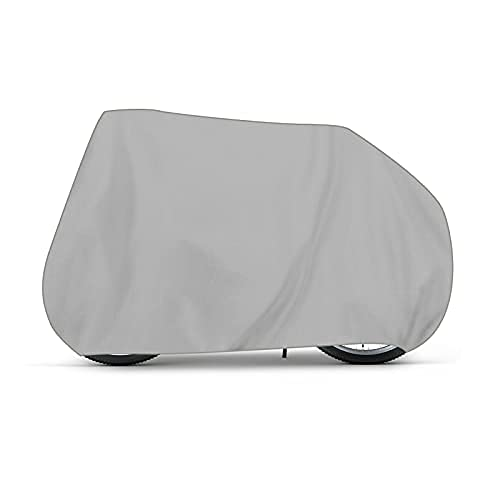 Holdfiturn Bike Cover Waterproof Silver Bicycle Covers for Mountain Bick Road Bikes Electric and Cruiser Bikes