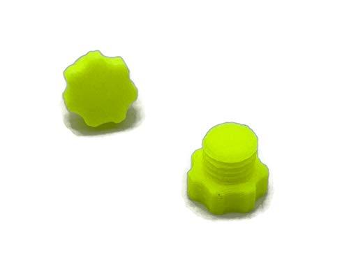 eXODA Tapón para depósito de combustible LPG, M12, de plástico, neón, antipolvo