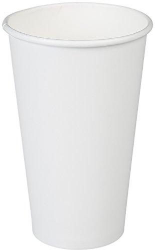 Amazon Basics Paper Hot Cup, 16 oz., 100-Count