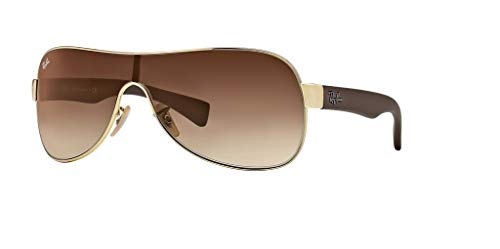 Ray-Ban RB3471 001/13 32M Arista/Brown Gradient Sunglasses For Men For Women
