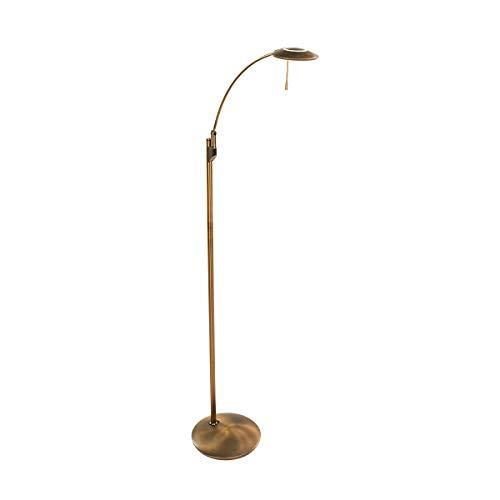 Steinhauer vloerlamp Zenith - brons