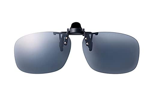 SWANS(スワンズ) 日本製 偏光 サングラス メガネにつける クリップオン 跳ね上げタイプ SCP-23_SMK SMK 偏光スモーク Free Size