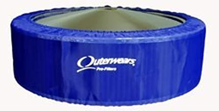 "NEW OUTERWEARS COVER FOR 14"" O.D. X 5"" TALL AIR FILTERS, BLUE PRE-FILTER, 411-335 411-385 K&N E-3760 AFE 18-11406 18-11426..."
