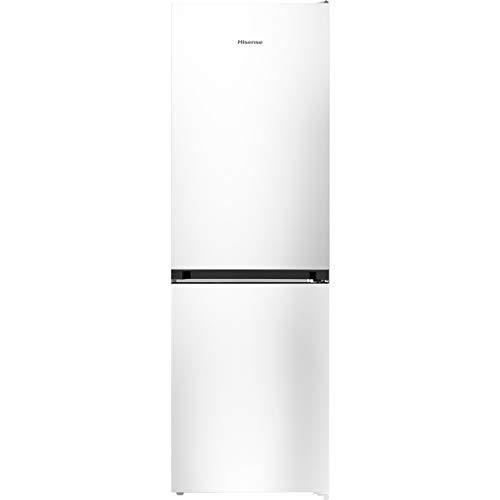 Hisense RB406N4AW1 nevera y congelador Independiente Blanco 308 L A+ - Frigorífico (308 L, Antiescarcha (nevera), SN-T, 12 kg/24h, A+, Blanco)