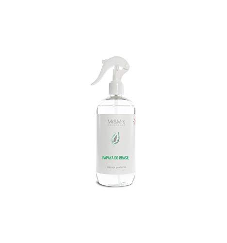 Mr&Mrs Fragrance Blanc | M&MJBLASPR021 | Spray Parfumé Pour La Chambre & Textiles | Papaya Do Brazil