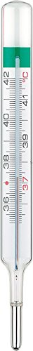 Geratherm classic analoges Fieberthermometer ohne Quecksilber