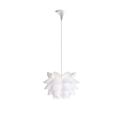 Unbekannt HSB E27 Personality-Deckenleuchte-hängende Lampen-Montage Lotus Kronleuchter Decke hängende Lampshade DIY Kronleuchter Lichter Moderne Lampenschirm
