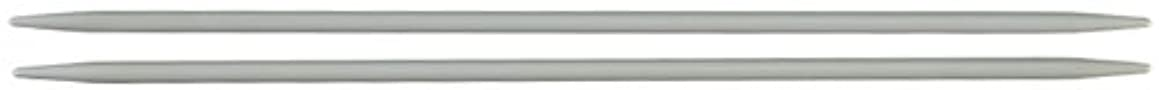 Susan Bates Q1407-2 7-Inch Quicksilver Double Point Knitting Needle, 2.75mm, 4 Per Package