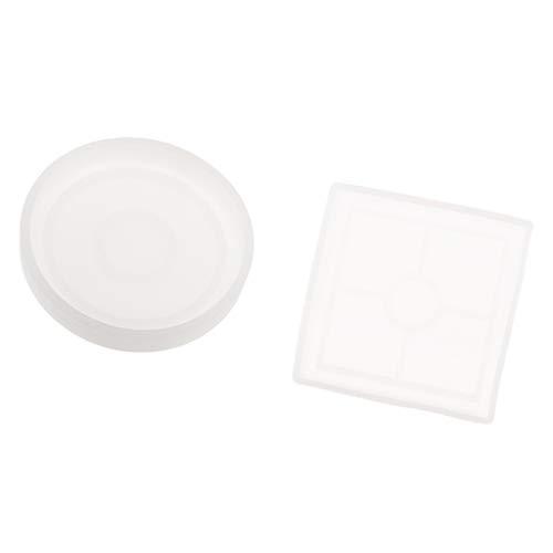 Sharplace - 2 Piezas de moldes de Silicona para macetas, Molde de Silicona para Hornear Tartas