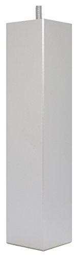 La Fabrique de Pieds Jeu de 4 Pieds de Lit, Bois, Laqué Alu, 25 x 5,5 x 5,5 cm