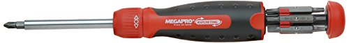 Megapro Marketing USA NC 211R2C36RD Ratcheting Screwdriver,Red