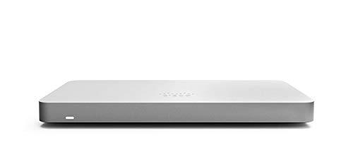 Cisco Meraki MX68 Cloud-Managed Security Appliance | MX68-HW | 450 Mbps throughput | Firewall and DHCP Device