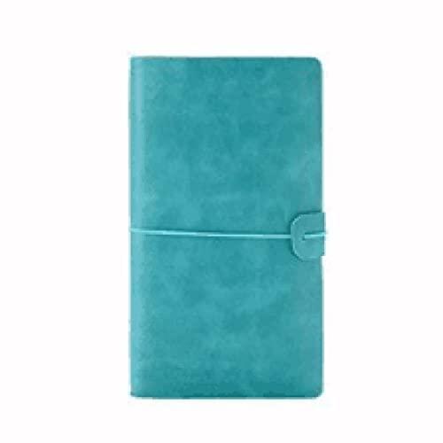Cuaderno A6 de tapa dura, de piel sintética, diario, planificador, escritura, bloc de notas, álbum de recortes con flexible, artículos de papelería, regalo para niñas y mujeres