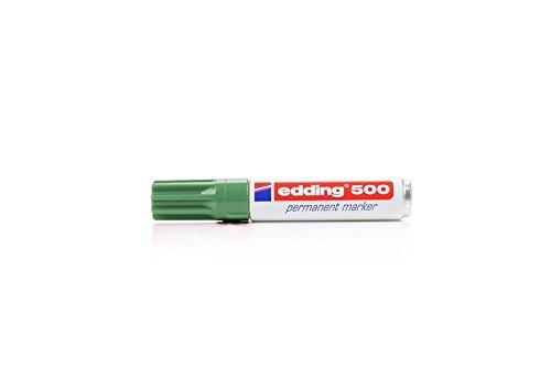 Edding marcatore permanente edding 500verde