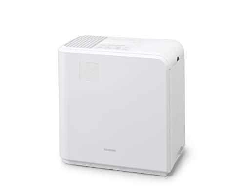 アイリスオーヤマ 加湿器 ハイブリッド式 加熱式 気化式 大容量 適応畳数19畳(プレハブ洋室) 加湿量 700ml HVH-700R1-W ホワイト