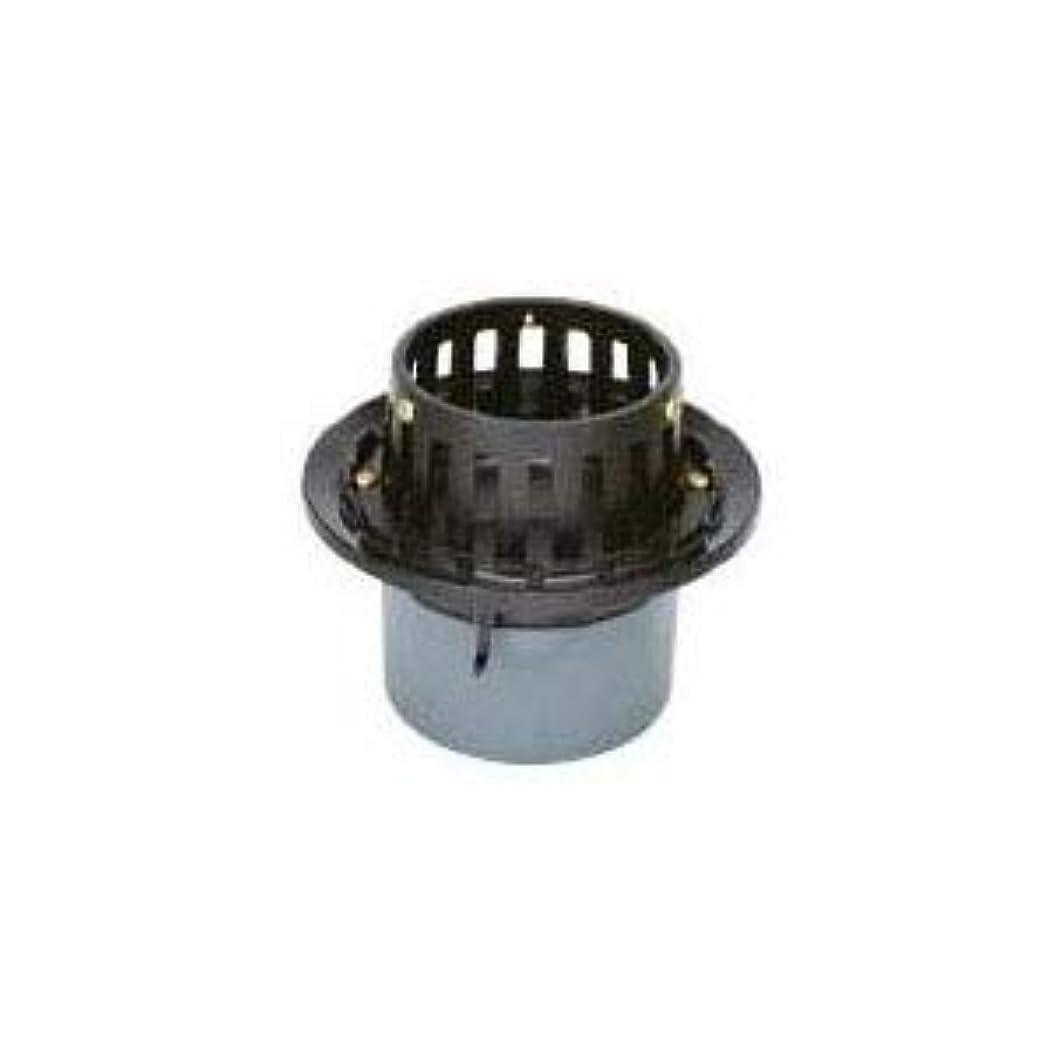 震える教え維持するカネソウ 鋳鉄製ルーフドレイン たて引き用 打込型 バルコニー中継用(呼称65) EMB-2-65