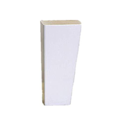 Tafelpoot, Eiken meubels voeten Sloping kegel tafelpoten Salontafel Kruk TV meubels Ondersteuning been 4 stuks 6cm-12cm-2.4in(6cm) 1 pack