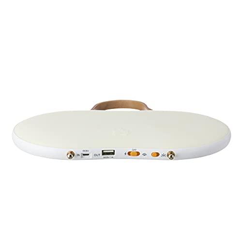 ロゴス(LOGOS)野電あったかパッド(USB蓄電)81336770ホワイト(約)幅24×奥行14×高さ3.7cm
