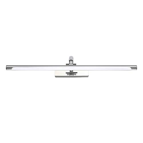 &LED Spiegelfrontlampe Badezimmer-Spiegel-Licht LED-Spiegel-Scheinwerfer Badezimmer wasserdicht Anti-Fog-Wand-Lampen-Make-up-Lampe Badezimmer Wandleuchte 11W 6800K White Light Lampe vor dem Spiegel