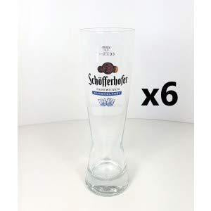 Schöfferhofer Hefeweizen Alkoholfrei Bierglas 0,5l - 6er Set