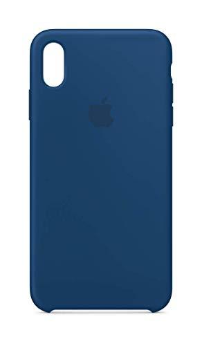 Apple Silikon Case (für iPhone XS Max) - Horizontblau