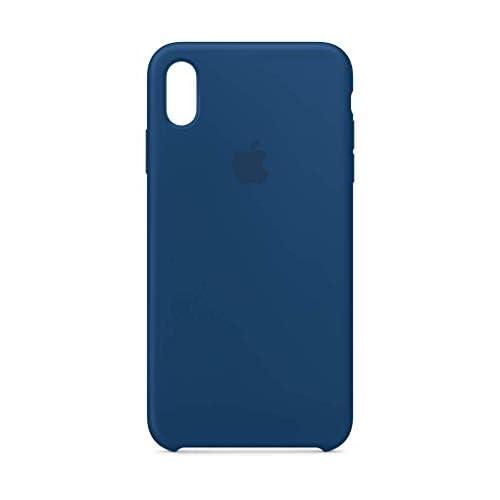 Apple Custodia in silicone (per iPhoneXSMax) - Blu orizzonte