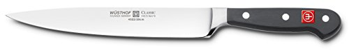 Wusthof CLASSIC Carving Knife, One Size, Black, Stainless Steel