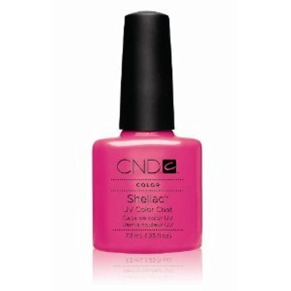できたキャンベラ同等のCND(シーエヌディー) シェラック UVカラーコート7.3mL 519 Hot Pop Pink(マット) [並行輸入][海外直送品]