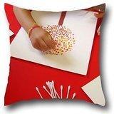 Goling BBay art tree Design Soft Cushion Cover For Pillows Skin Anti Wrinkle Zipper Pillow Case 1818