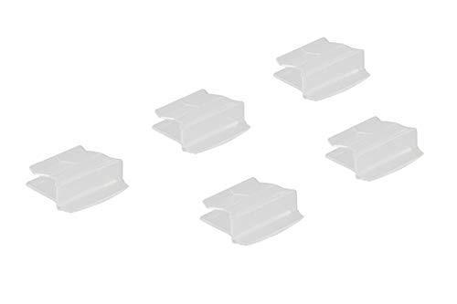 Microscope Slide Tray Folder Clips, Clear