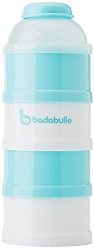 Badabulle B004203 Baby dose Boy, dosatore e contenitore per latte in polvere, Blu