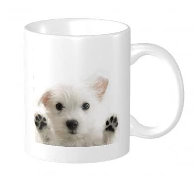 West Highland White Terrier Westy Westie Puppy Dog - Taza de café de cerámica