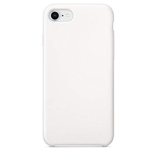 LUOKAOO Funda de Silicona iPhone XR X XS MAX 7 8 6 6s Plus Fundas para Apple iPhone 11 Pro MAX Funda Funda, 06 Blanco, para iPhone 6 (6s)