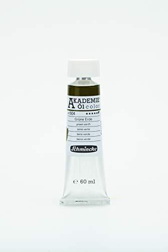 Akademie Öl, Schmincke, 60 ml Grüne Erde