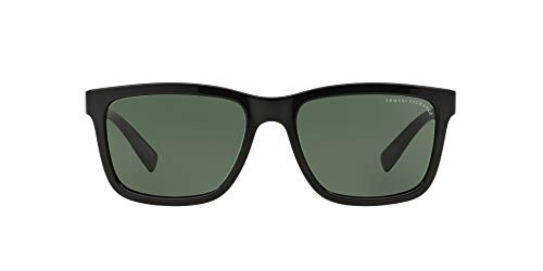 Armani sunglasses for men and women AX Armani Exchange Men's Ax4045s Rectangular Sunglasses