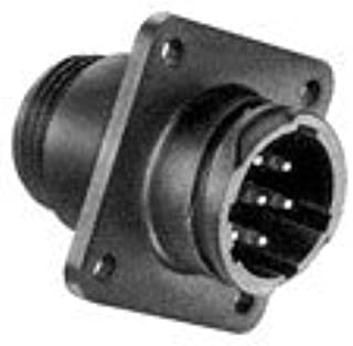AMP 211771-1 Circular Connector Receptacle Size 23, 19 Position, Panel; Product Range:CPC Series 1; Circular Connector Shell Style:Panel Mount Receptacle; NO. of Contacts:19CONTACTS; Circular Contact
