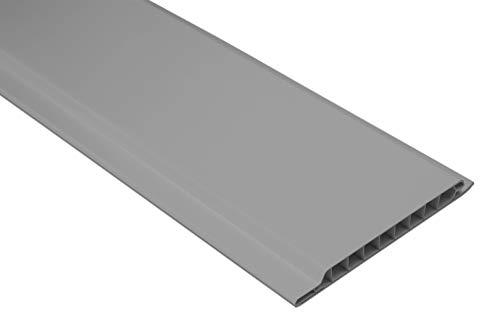 1 qm | Paneele | Wandverkleidung | Auswahl | 200x10cm | HEXIM | PP10-10 grau