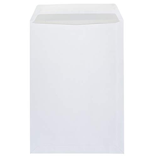 Idena 10233 - Versandtasche DIN C4, 100 g/m², haftklebend, ohne Fenster, FSC-Mix, weiß, 10 Stück