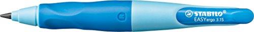 Stabilo Easy Ergo 3.15 Rh 7892/2-1HB – Portaminas escolar para diestros, color azul claro y oscuro