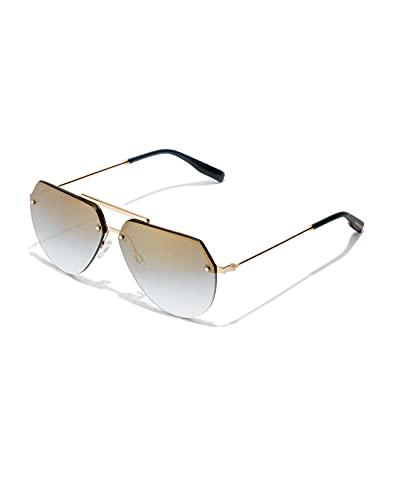 HAWKERS Cooper-Gold Blue Gradient Gafas de Sol, Azul/Dorado, One Size Unisex Adulto